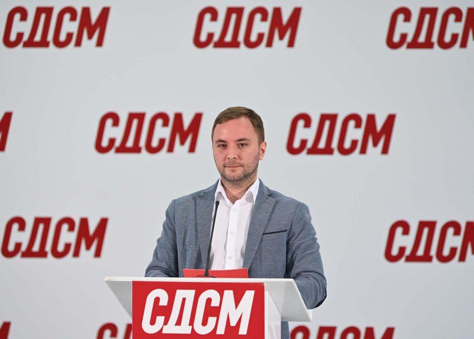 СДСМ: Отворен јавниот повик за самокандидирање за градоначалници, излегуваме со најдобрата понуда на локалните избори