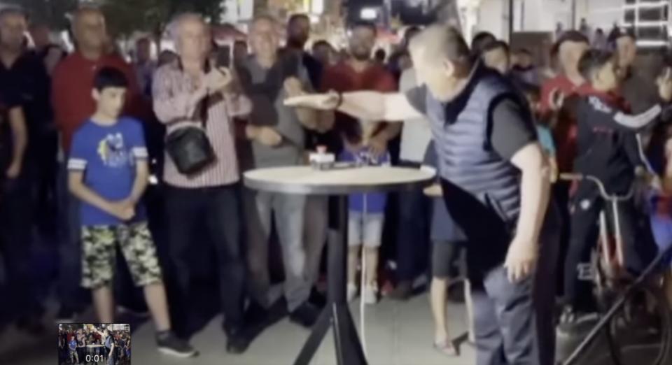 Зелена агенда во стилот на Мерко: Осветлувањето на Црн Дрим свечено пуштено со огномет