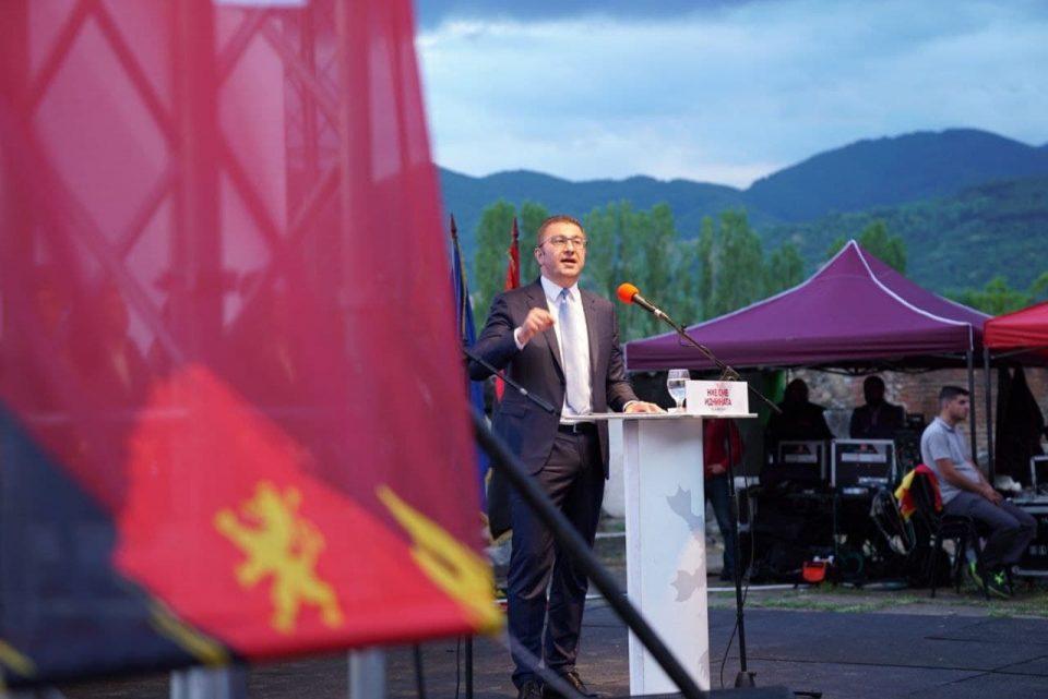 Мицкоски: Излезот е победа на обединет опозициски блок, имаме разлики но целта е иста-пораз на Заев