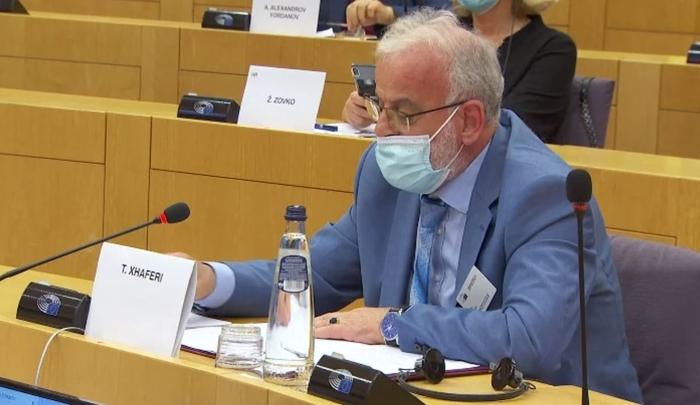 Џафери во Европскиот парламент се обраќа на албански јазик