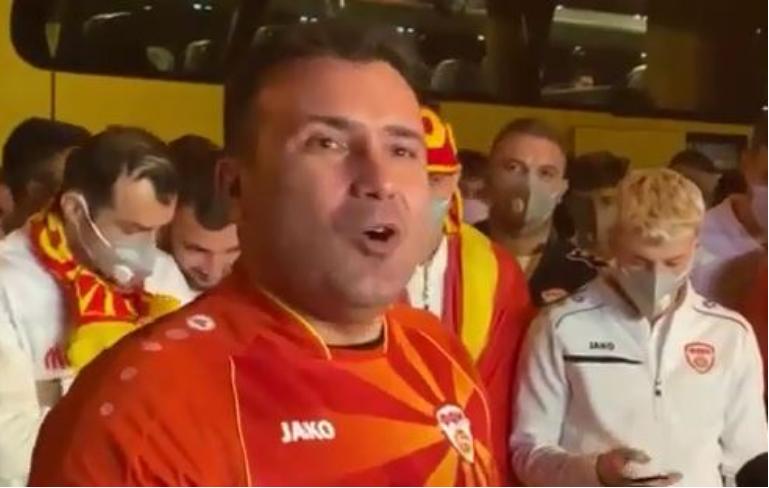 Зоран Заев замина за Букурешт, од трибините ќе ја бодри Македонија
