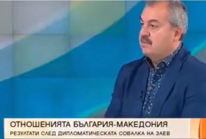 Љубчо Нешков: Без помош од Бугарија, Заев немаше да дојде на власт