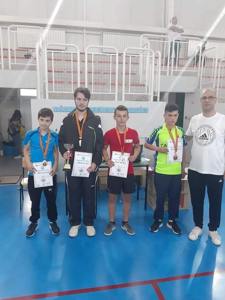 Дамјан Стојчев и Ана Стојановска државни прваци во категоријата У 21