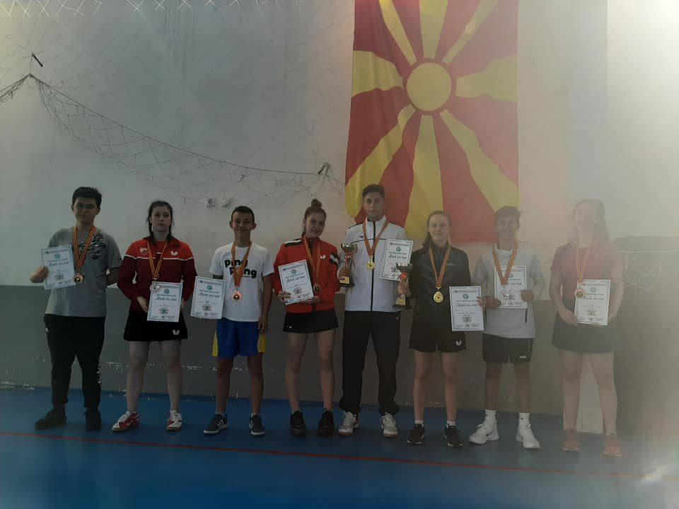 Волканоски и Стојановска државни прваци во јуниорска конкуренција
