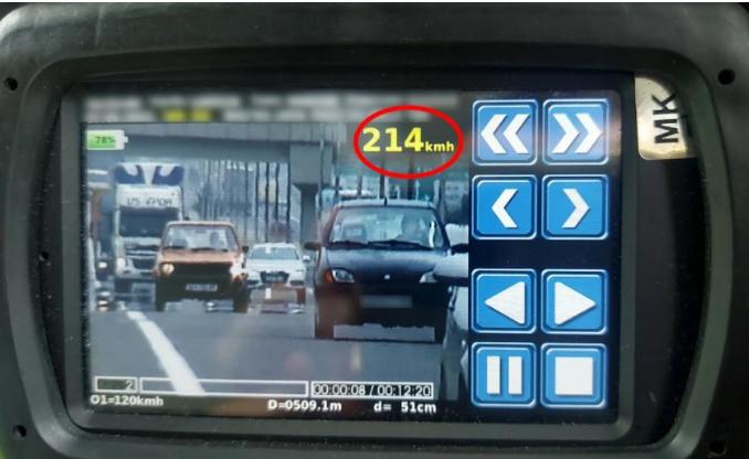 Полицискиот радар броел до 214 км/ч, казнети 448 возачи за пребрзо возење