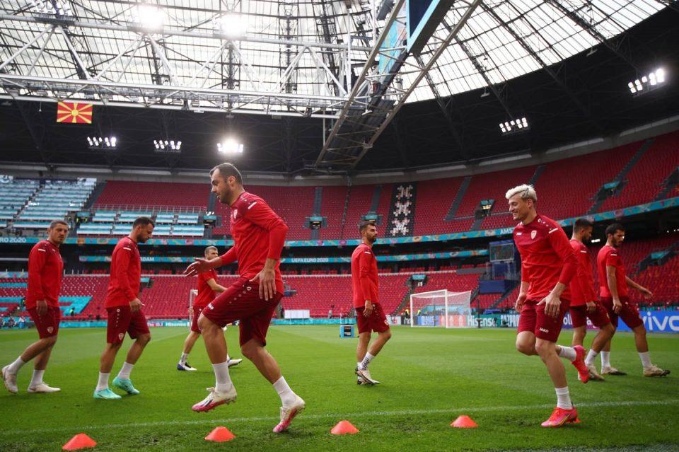 Завршен тренинг на македонските фудбалери пред натпреварот со Холандија
