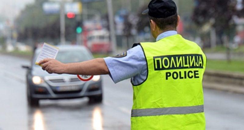 МВР и вчера со засилени сообраќајни контроли