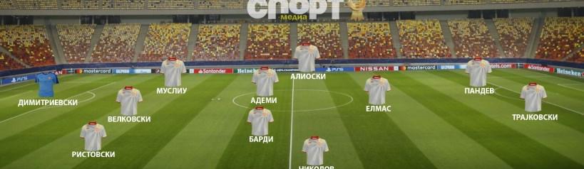 Ова е веројатниот состав на Македонија против Австрија