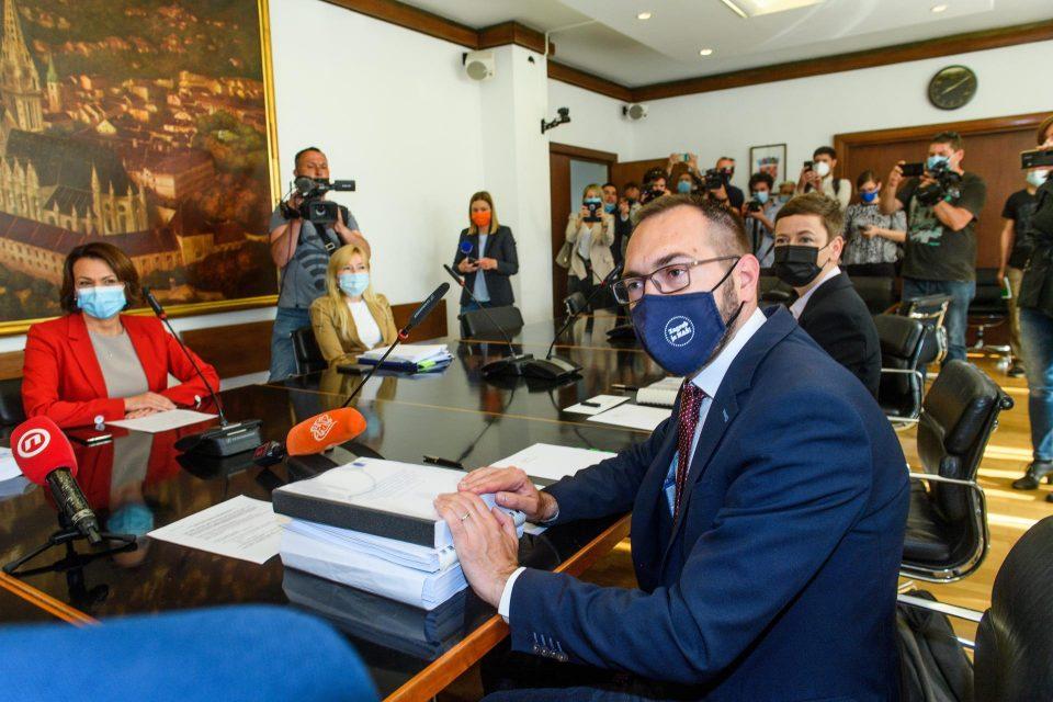 Томашевиќ ја презеде функцијата градоначалник на Загреб: Касата на градот е празна, ќе мора да го решиме тоа