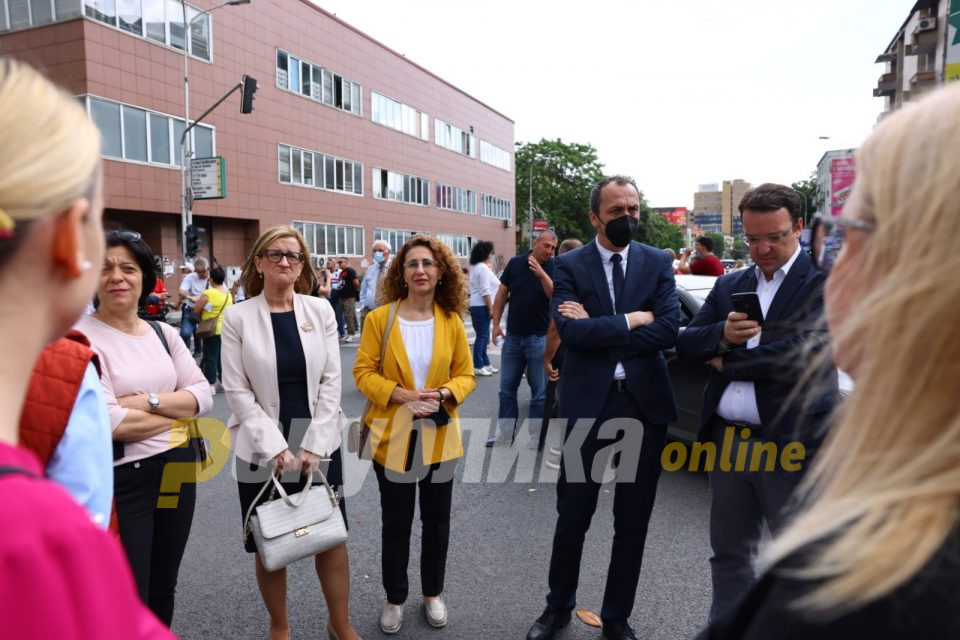 Арсовски: ВМРО-ДПМНЕ ги организира секојдневните блокади во име на граѓаните, СДСМ нема да ги заплаши граѓаните кои протестираат преку МВР и нивните притисоци