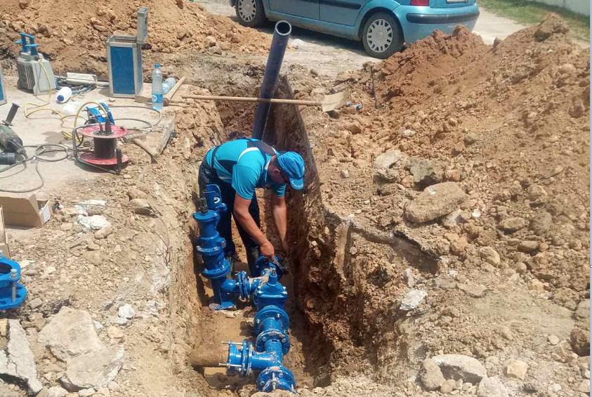 Бардовци доби водоводна мрежа од околу 1000 метри