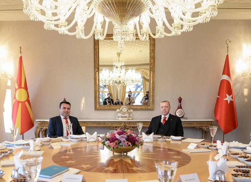 Ердоган – Заев: Отвораме врати за посилни трговски врски меѓу двете земји