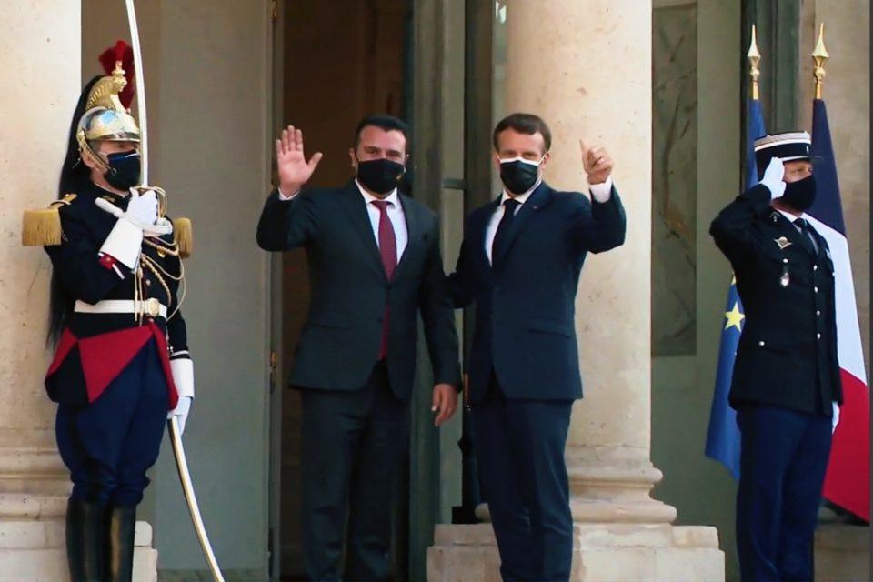 Макрон – Заев: Време е за преговори, без одложување
