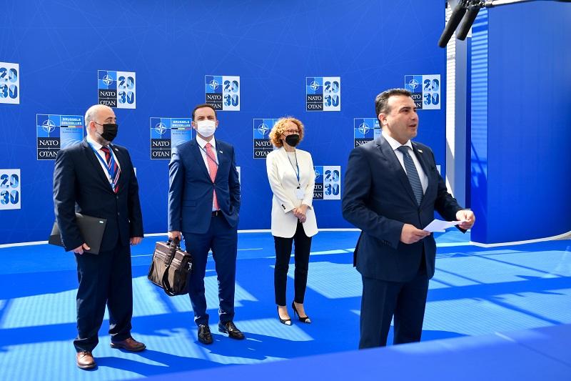 Заев: Со нашето членство НАТО ја подобри безбедноста и стабилноста на регионот