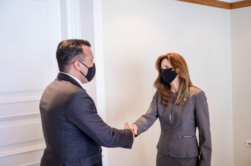 Заев–Брнз: Извршната наредба на претседателот Бајден ги штити САД, Македонија и сојузниците