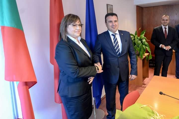 Нинова вели едно, Заев друго по средбата во Софија