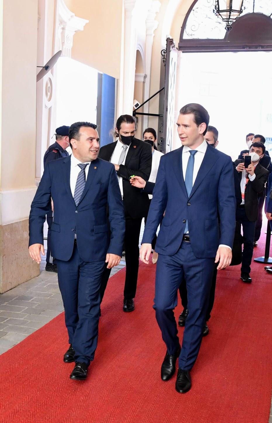 Заев oд Виена: Иднината на Европа е со Западен Балкан, а иднината на Западниот Балкан е со Европа