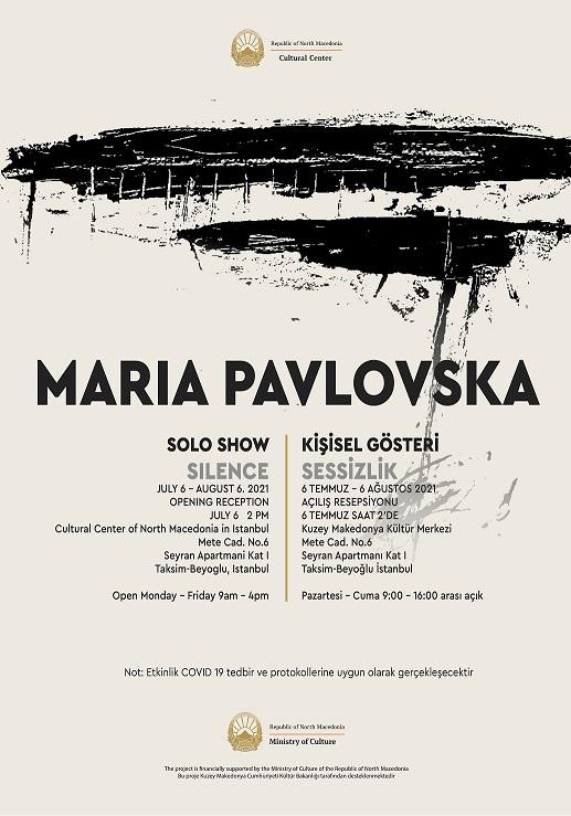 Самостојна изложба на Марија Павловска во Македонскиот културен центар во Истанбул