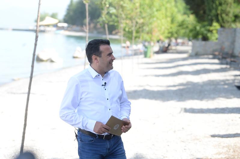 Заев: Не можам да ѝ се јавам на норвешката премиерка и да ургирам за Охрид