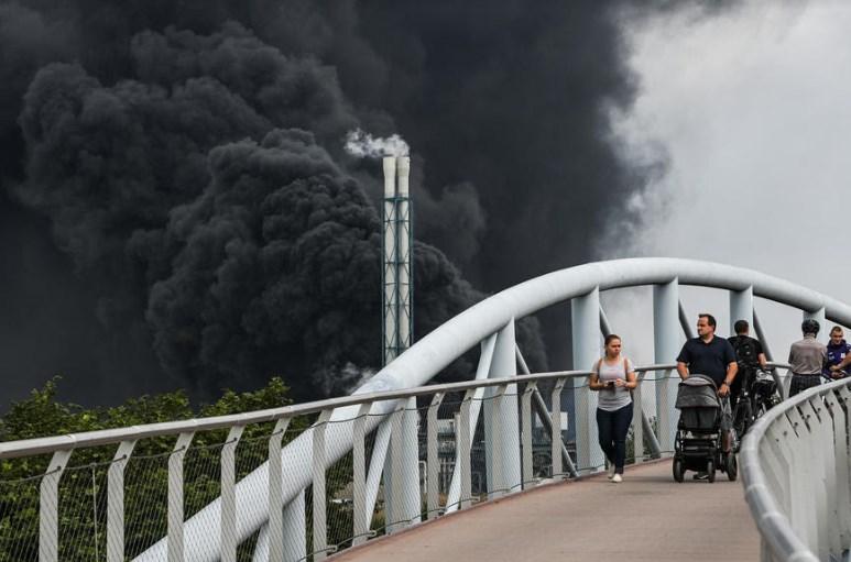 Вака изгледа Леверкузен по големата експлозија
