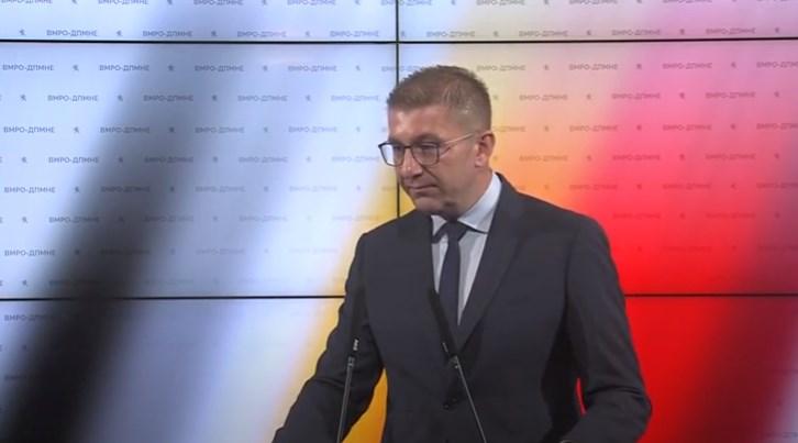 Мицкоски: Со поскапото гориво власта ќе прави поткуп пред избори