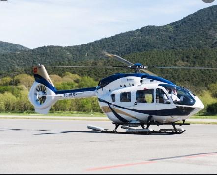 Нејмар се поднови со хеликоптер Мерцедес за 10 милиони евра