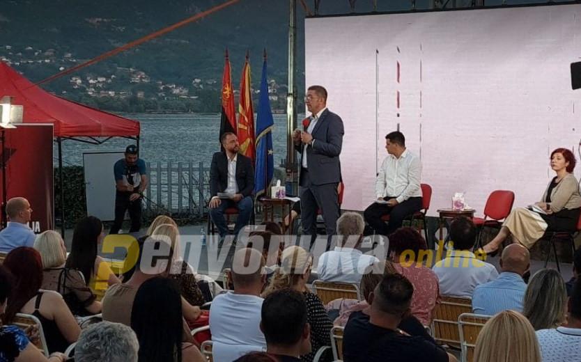 Лидерот Мицкоски со силни пораки од Охрид