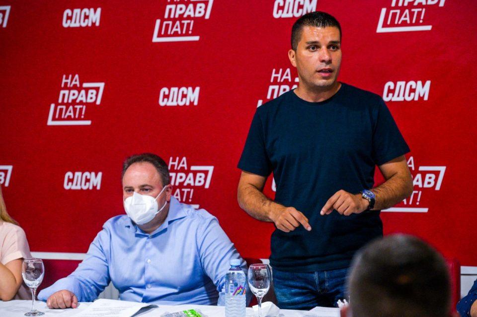 СДСМ Охрид со нов претседател и ново раководство
