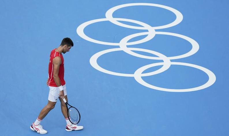 Готово е!: Заврши олимпискиот сон на Новак Ѓоковиќ