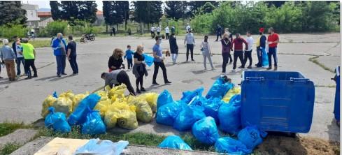 """На еколошката акција """"Генералка викенд"""" се собраа 175.181 килограми отпад, ќе се засадат 17.500 дрвја"""