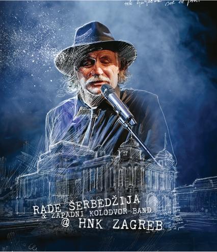 """Проекција на концертот на """"Раде Шербеџија и Западни колодвор бенд"""" во четврток во Кинотека"""