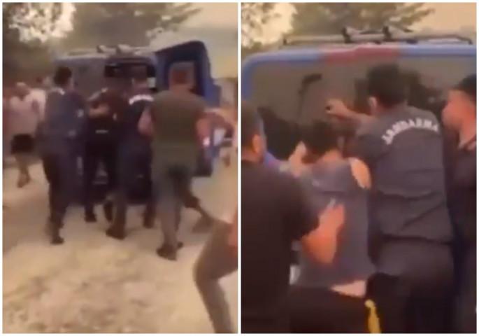Уапсен осомничен за пожарите во Турција, толпата сакаше да го линчува