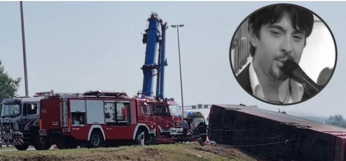 Тој автопат е проклет: Косовскиот автобус се преврте во близина каде што загина Тоше Проески
