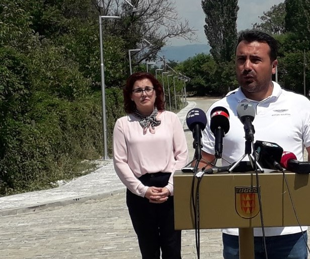 Заев: Градоначалничката на Битола, Петровска е еден од најдобрите градоначалници во државата