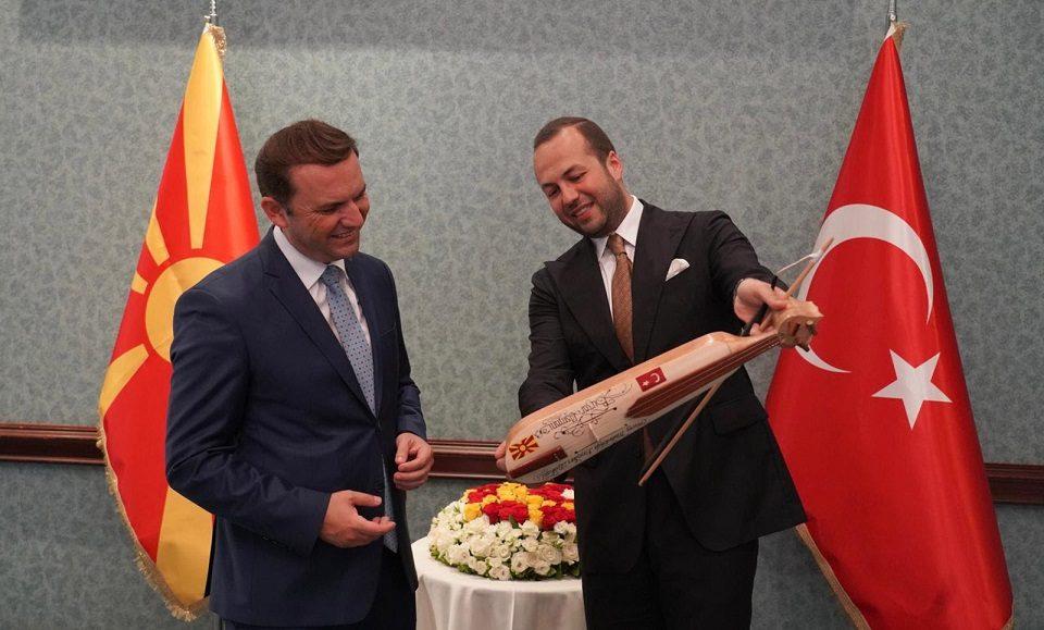 Џевахир стана почесен конзул на Македонија во Турција