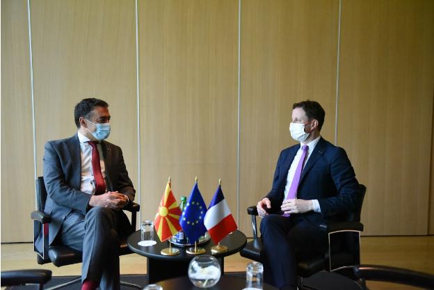 Средби на Димитров со министрите од ЕУ – силна поддршка за европското досие на Македонија