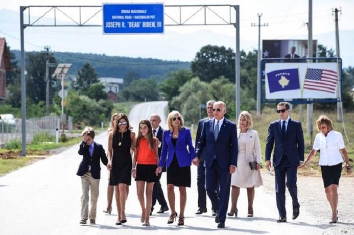 Бајден: Трогнат сум од медалот за мојот починат син, Косово е во срцето на моето семејство