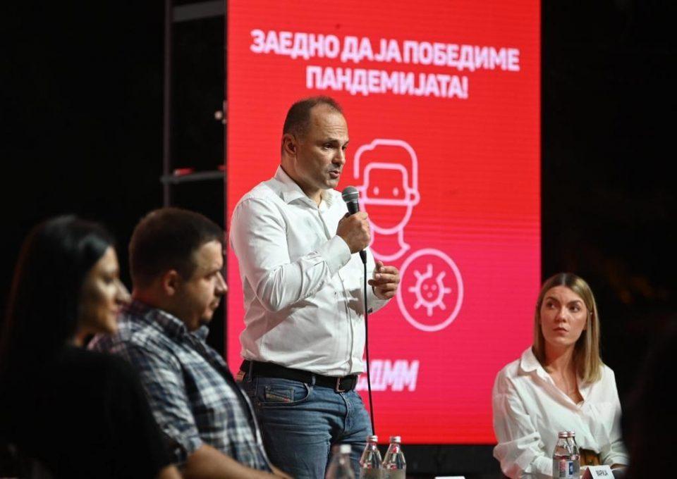 Филипче: Младите да ја поддржат масовната имунизација и да му помогнат на здравствениот систем