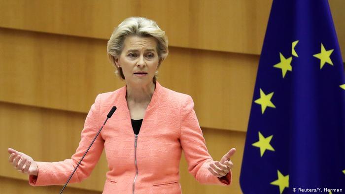 Урсула фон дер Лајен пред ЕП ќе реферира за борбата против Ковид-19 и загриженоста по случувањата во Авганистан