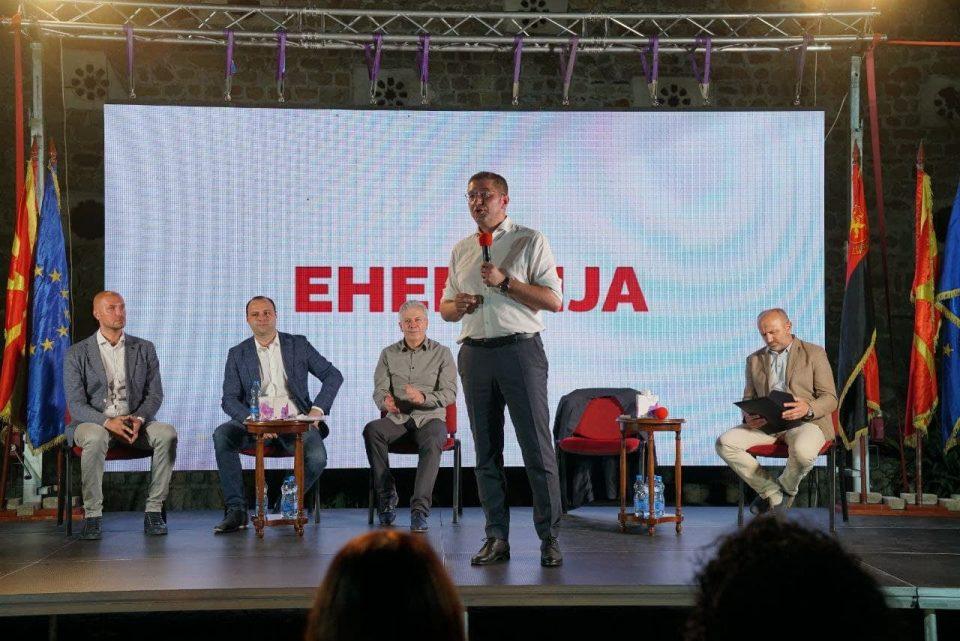 Мицкоски: Во Прилеп ги промовираме новиот автопат кон Прилеп преку Бабуна и закон за целосен откуп на тутунот