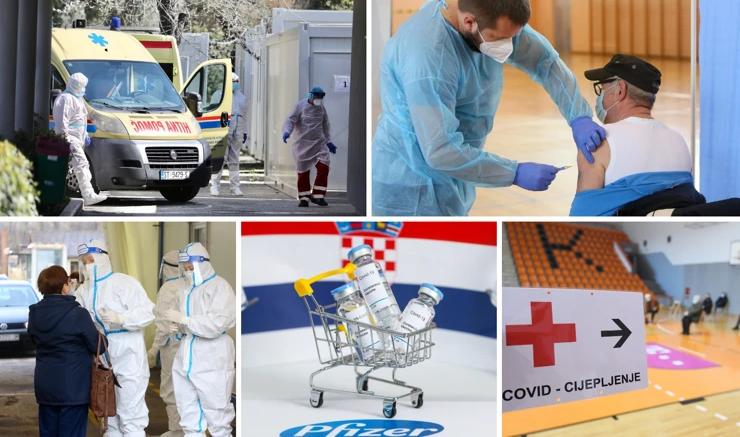 Во Хрватска регистрирани 155 нови заразени и двајца починати од Ковид-19