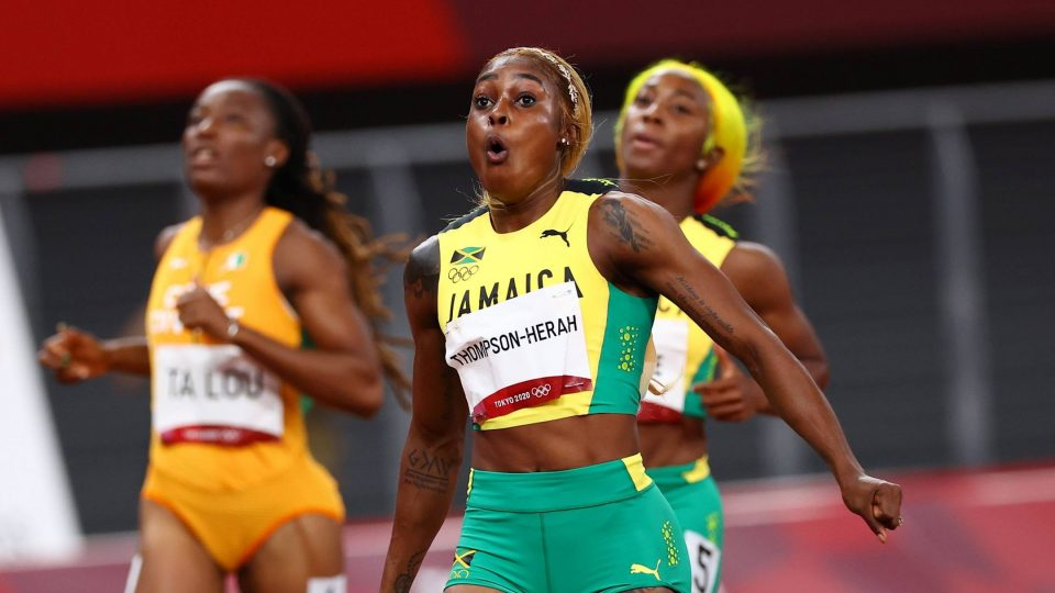 Второ најбрзо време во историјата и тројна победа на Јамајка на 100 метри во женска конкуренција