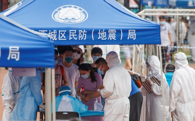Во Пекинг регистрирани два случаи на Ковид-19 по пауза од шест месеци