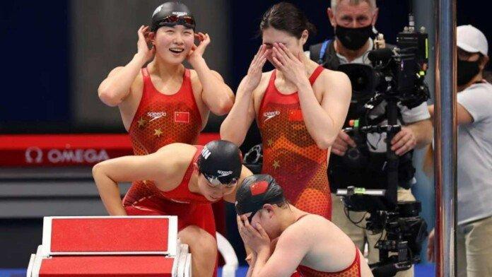 Кинеската штафета го собори светскиот рекорд на 4 пати по 200 метри слободно