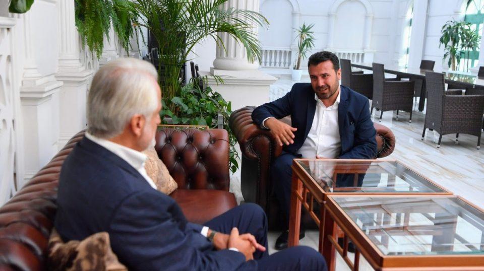 Заев и Тачи ќе соработуваат на локалните избори