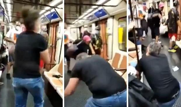 Болничар во Мадрид остана без око: Побара од момче да стави маска во метрото, по што беше крвнички нападнат