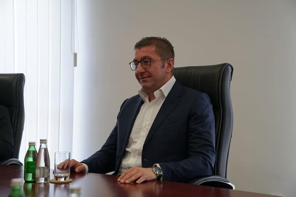Мицкоски: Резолуцијата да биде прифатена од сите партии без изговори и условувања, така ќе ги зајакнеме државните позиции