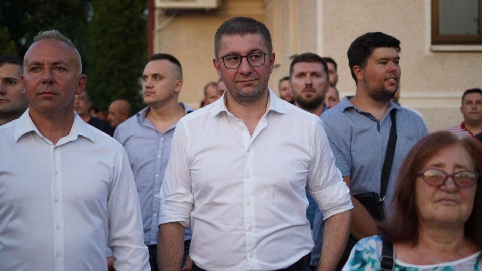 Мицкоски ги испрати од Горно Лисиче коњаниците на традиционалниот Илинденски марш во Крушево