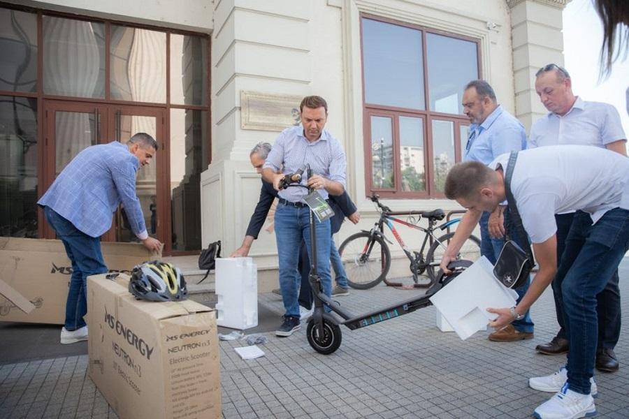 Вработените во МНР ќе користат електрични тротинети