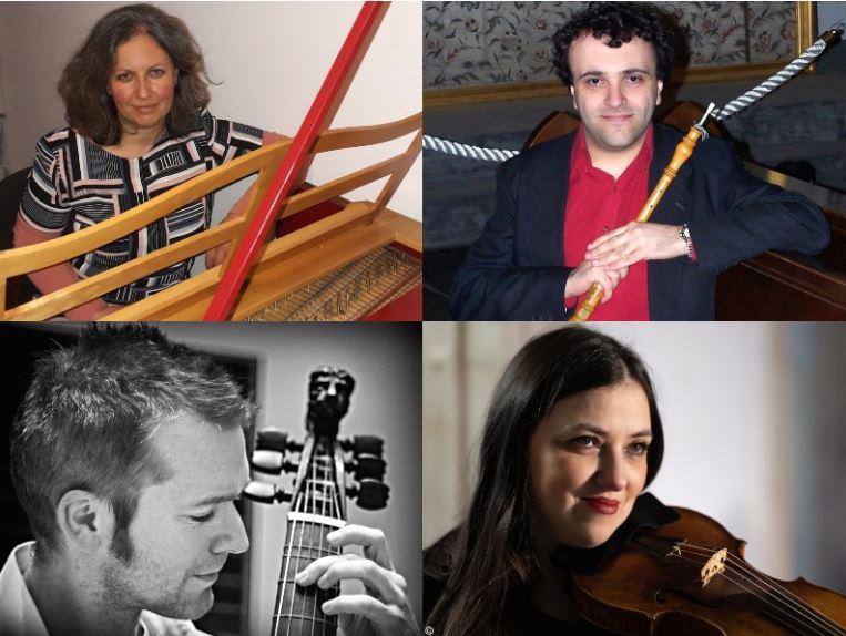 Концерт на мешаниот барокен квартет од Холандија на Охридско лето